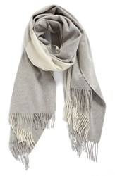 Nordstrom Women's Collection Plaid Cashmere Scarf