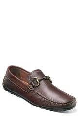 Florsheim Men's 'Danforth' Driving Shoe Brown Leather