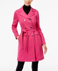 Inc International Concepts Double Breasted Car Coat Only At Macy's Berry Ice