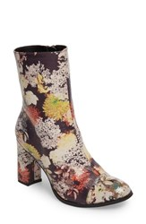 Coconuts By Matisse Women's Cocunuts La Brea Boot Floral Print Faux Leather