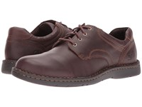Born Howard Mahogany Full Grain Leather Men's Lace Up Casual Shoes Brown