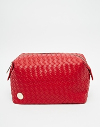 Mi Pac Mi Pac Woven Red Make Up Bag