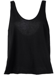 Lost And Found Rooms Scoop Neck Tank Black