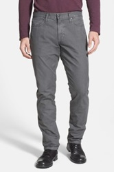 Vince 'Harrison' Five Pocket Relaxed Fit Cotton Pants Gray