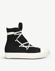 Drkshdw Hex Canvas Trainers Blk White