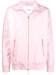 Soulland Zipped Bomber Jacket Pink