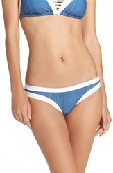 Seafolly Women's Block Party Hipster Bikini Bottoms