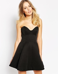 Finders Keepers Exist Outside This Place Skater Dress Black