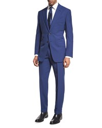 Tom Ford O'connor Base Fresco Two Piece Suit Bright Blue
