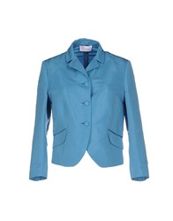 Red Valentino Redvalentino Suits And Jackets Blazers Women Turquoise