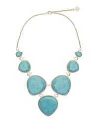 Kendra Scott Magnesite Statement Bib Necklace Turquoise