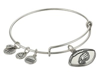Alex And Ani Philadelphia Eagles Football Charm Bangle Rafaelian Silver Finish Bracelet