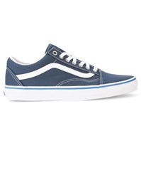 Vans Navy Old Skool Canvas Sneakers Blue