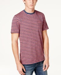Club Room Men's Striped Pocket T Shirt Only At Macy's Melone