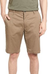 Rvca Men's The Week End Twill Chino Shorts Dark Khaki