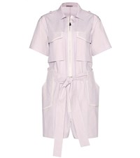 Bottega Veneta Cotton Jumpsuit Purple