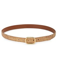 Lauren Ralph Lauren Basic Cork Belt Natural