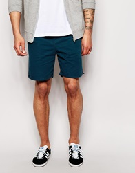 New Look Twill Beach Shorts Petrolblue