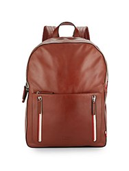 Ben Minkoff Bondi Leather Backpack Cognac