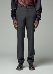 Comme Des Garcons Homme Plus 'S Oxford Pant In Charcoal Grey Size Small 100 Polyester