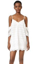 Red Carter Lily Dress Ivory