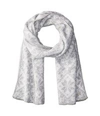 Dale Of Norway Rose Scarf T Light Charcoal Off White Scarves