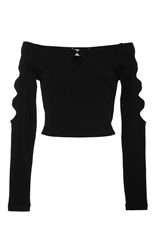 Alice Mccall Xo Off The Shoulder Top Black