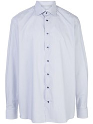 Eton Fine Striped Poplin Shirt 60