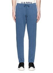 Denham Jeans 'Roy' Cotton Jogging Pants Blue