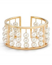 Assael Akoya Pearl Abacus Bangle Bracelet