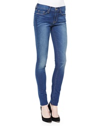 Frame Forever Karlie Skinny Mid Rise Jeans Columbia Road