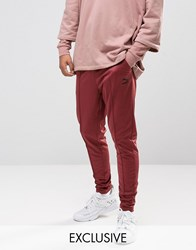 Puma Skinny Track Joggers In Red Exclusive To Asos Red