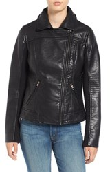 Steve Madden Women's Faux Leather Moto Jacket