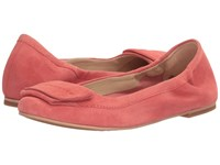 Hush Puppies Livi Heather Coral Suede Women's Flat Shoes Pink