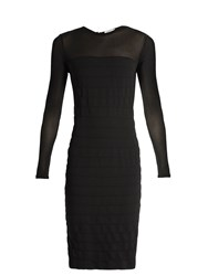 Max Mara Orafo Dress Black