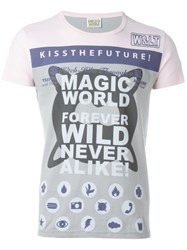 Walter Van Beirendonck Vintage 'Kiss The Future' T Shirt Grey
