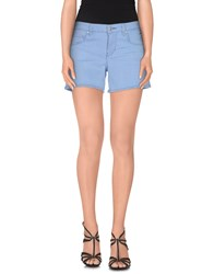 Guess Denim Denim Shorts Women Blue