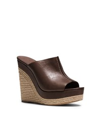 Michael Kors Charlize Leather Wedge