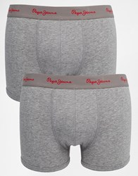 Pepe Jeans 2 Pack Oliver Boxers Grey