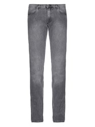 Acne Studios Max Low Rise Slim Fit Jeans Grey