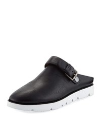 Gentle Souls Esther Convertible Leather Sneaker Mules Black