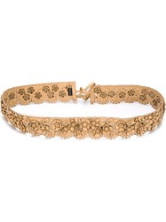 Etro Flower Belt Nude And Neutrals
