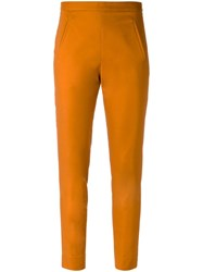 Andrea Marques Skinny Trousers Orange