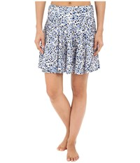 Michael Michael Kors Chilitington Skirted Cover Up New Navy Women's Swimwear