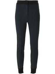 Dolce And Gabbana Skinny Style Track Pants Grey