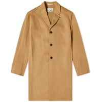 Acne Studios Chad Cashmere Long Coat Brown