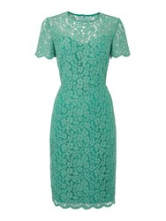 Pied A Terre Lace Shift Green