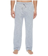 Lacoste Premium Cotton Lounge Welt Pocket Pants Light Grey Heather Men's Pajama Gray