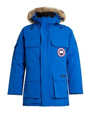 Canada Goose Pbi Expedition Down Parka Blue