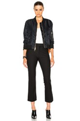 Veronica Beard Fwrd Exclusive Flight Jacket In Black